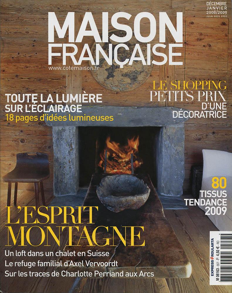 Maison Française - Décembre 2008 - Couverture