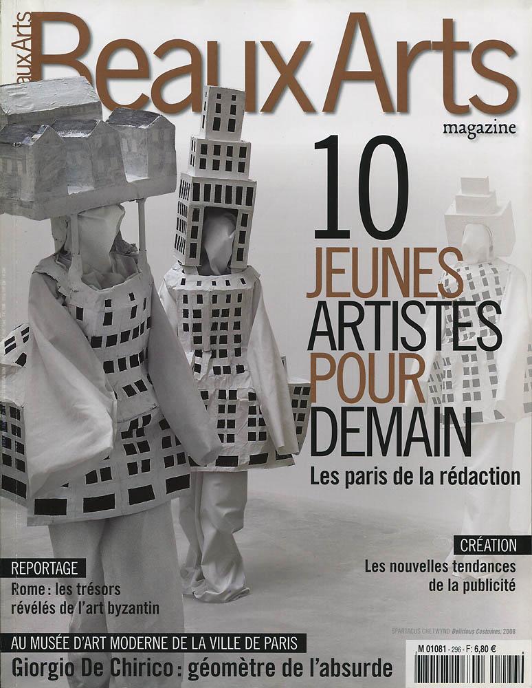 Beaux Arts - Février 2009 - Couverture