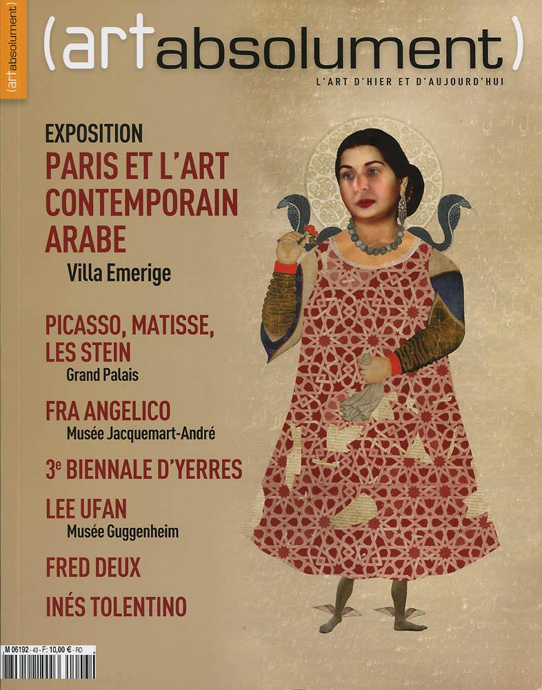 Art absolument - Septembre 2011 - Couverture