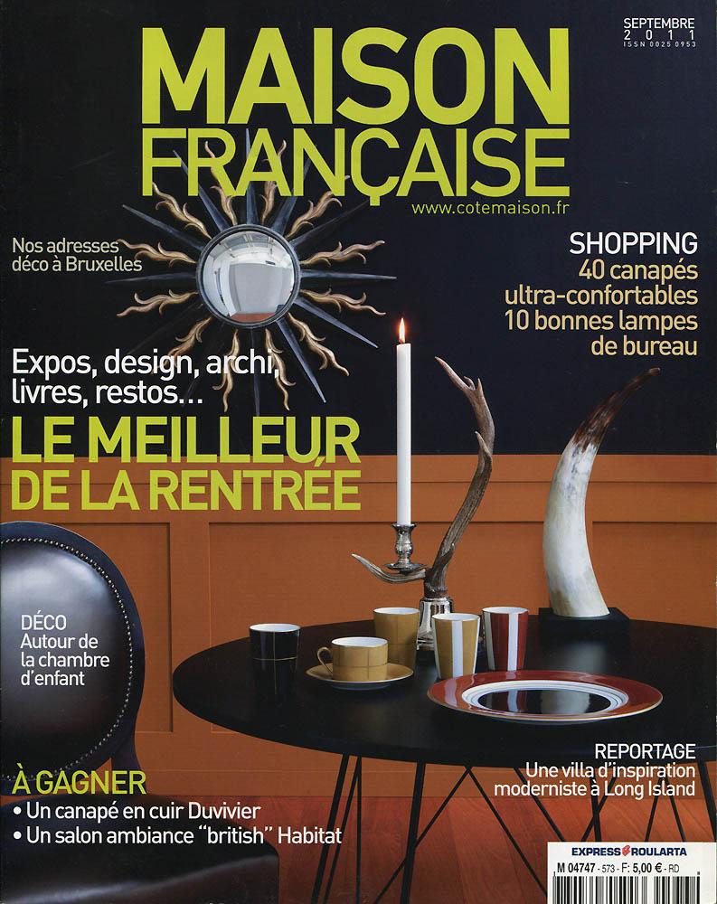 Maison Française - Septembre 2011 - Couverture
