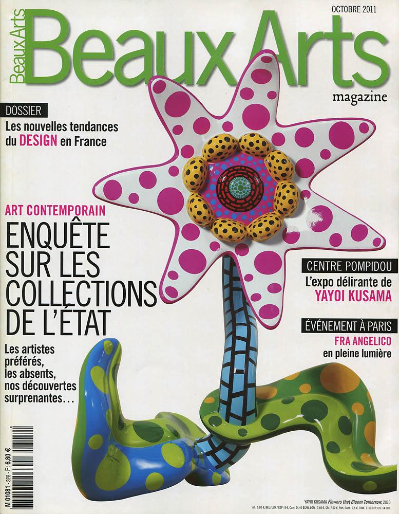 Beaux Arts - Octobre 2011 - Couverture