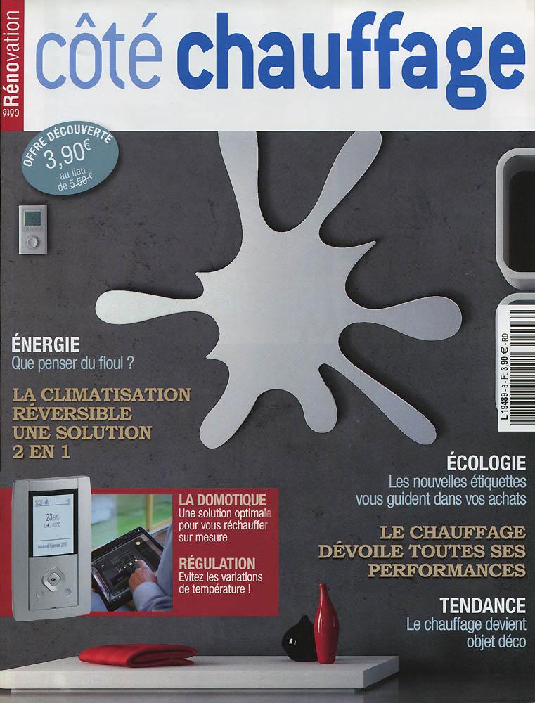 Côté Chauffage - Octobre 2011 - Couverture