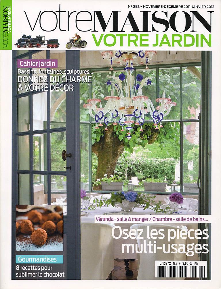 Votre Maison, Votre Jardin - Novembre 2011 - Couverture