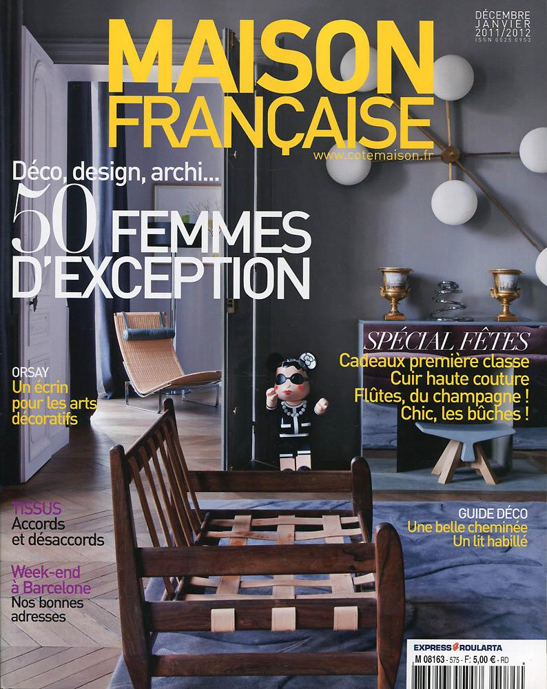 Maison Française - Décembre 2011 - Couverture