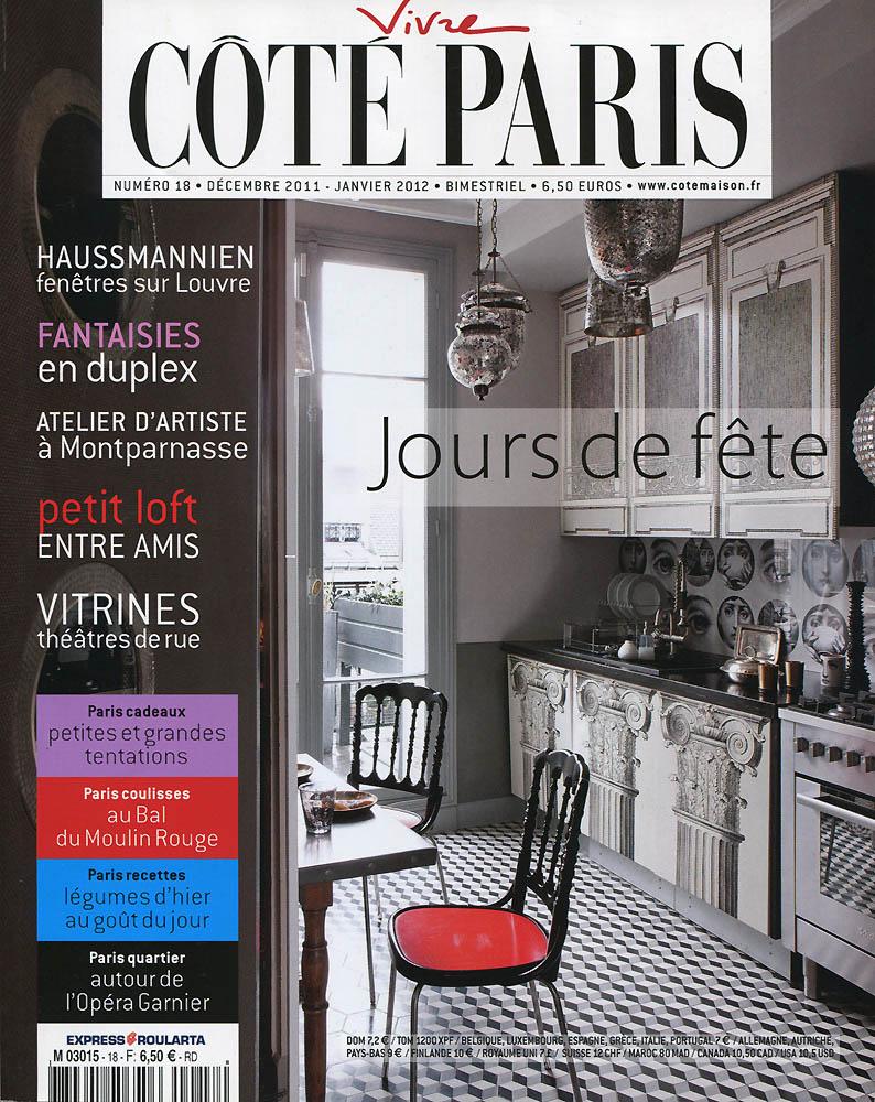 Côté Paris - Décembre 2011 - Couverture