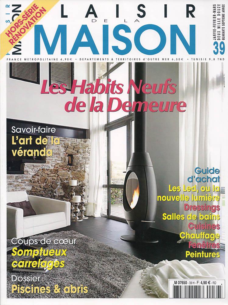 Plaisir Maison - Janvier 2012 - Couverture