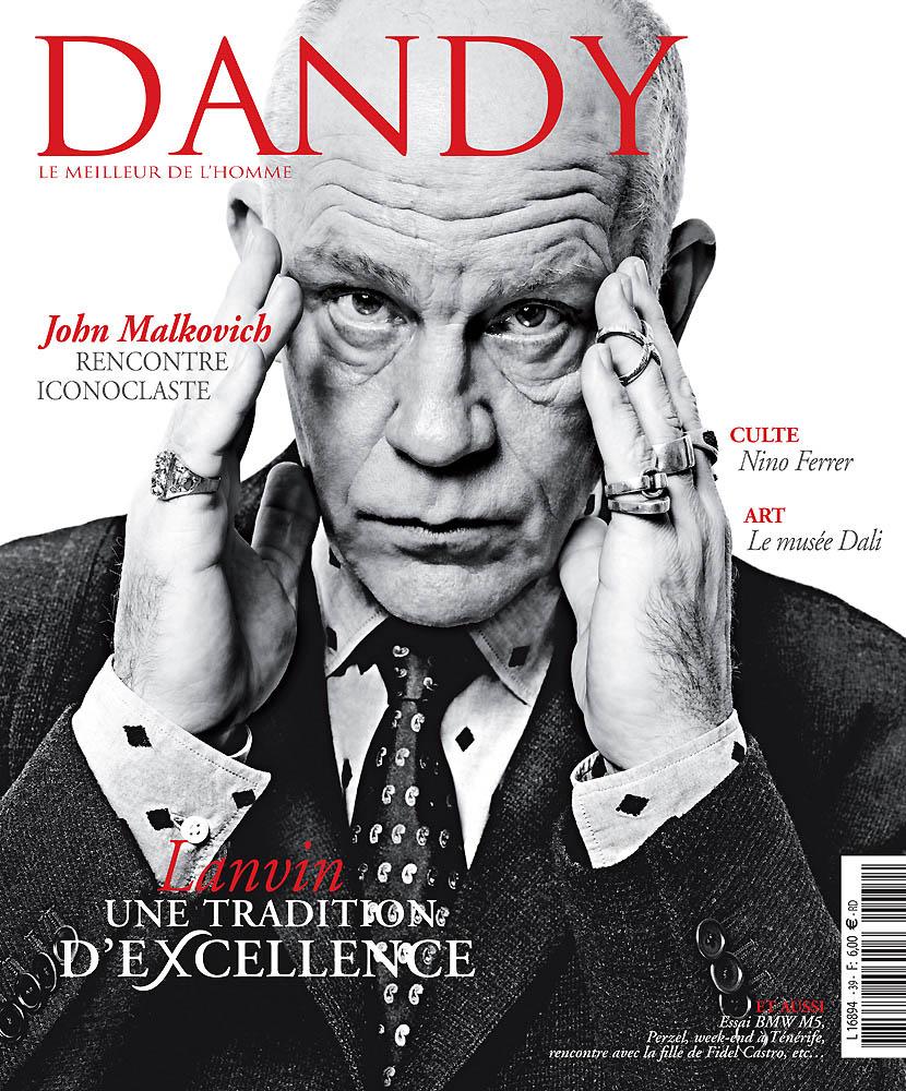 Dandy - Février 2012 - Couverture