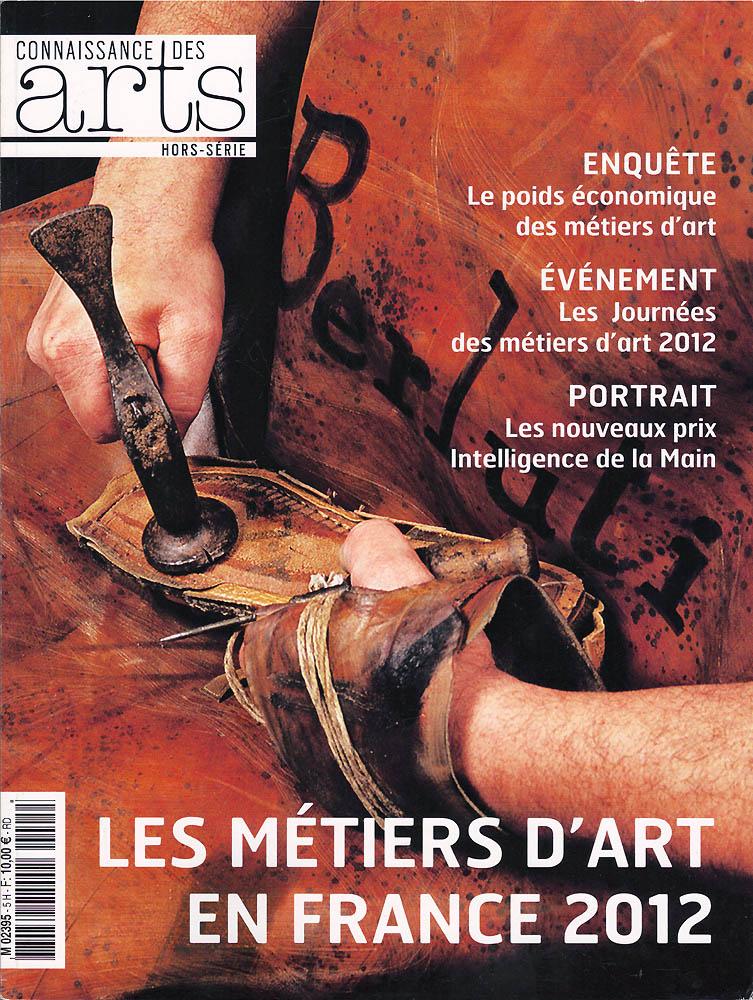 Connaissance des Arts - Avril 2012 - Couverture