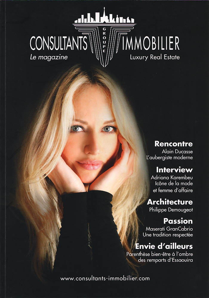 Consultants Immobilier - Avril 2012 - Couverture