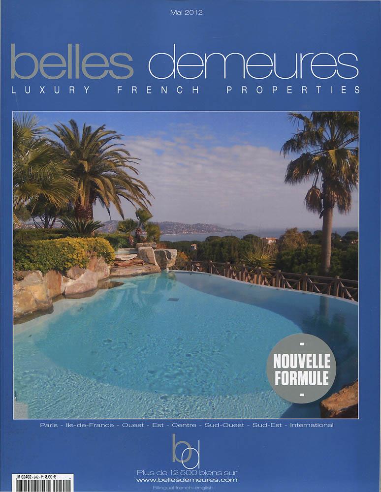 Belles Demeures - Mai 2012 - Couverture