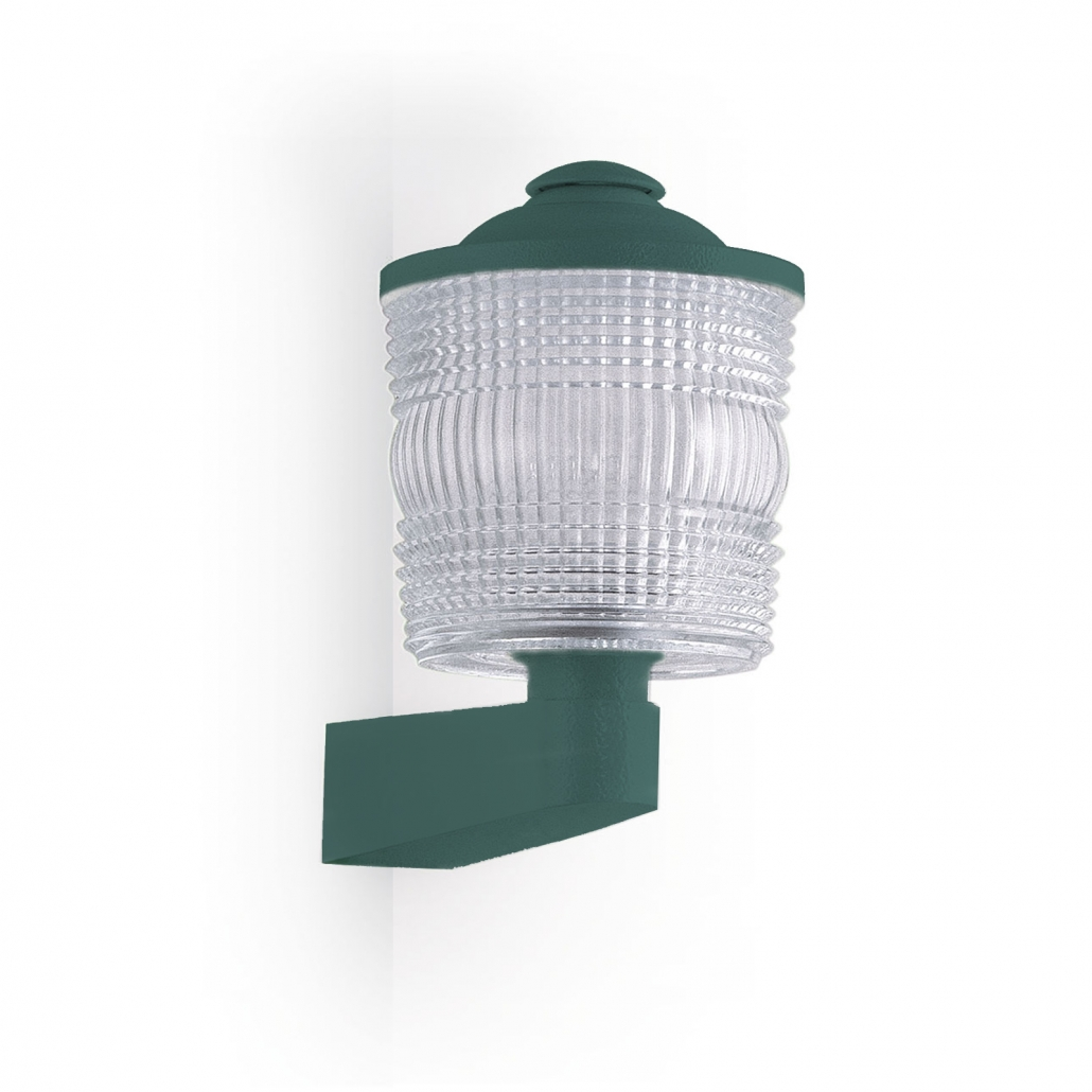 Outdoor wall lamp 1045 Angle GM Jean Perzel