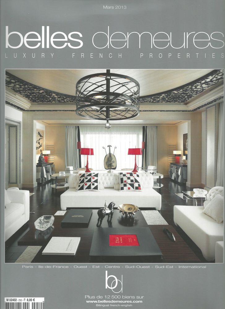 Belles Demeures - Mars 2013 (Couverture)