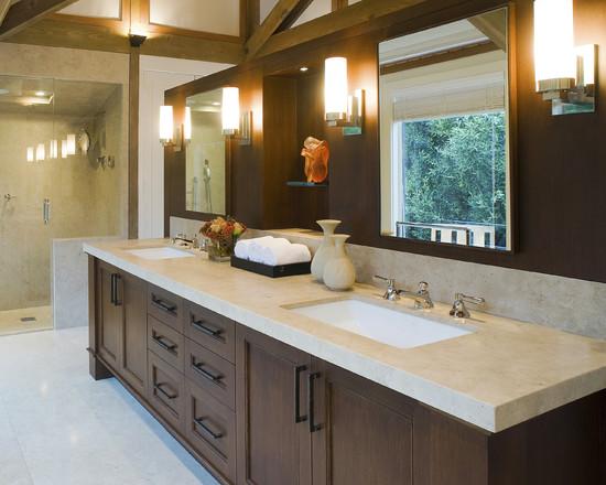 Salle de bains contemporaine - Sutton Suzuki Architects