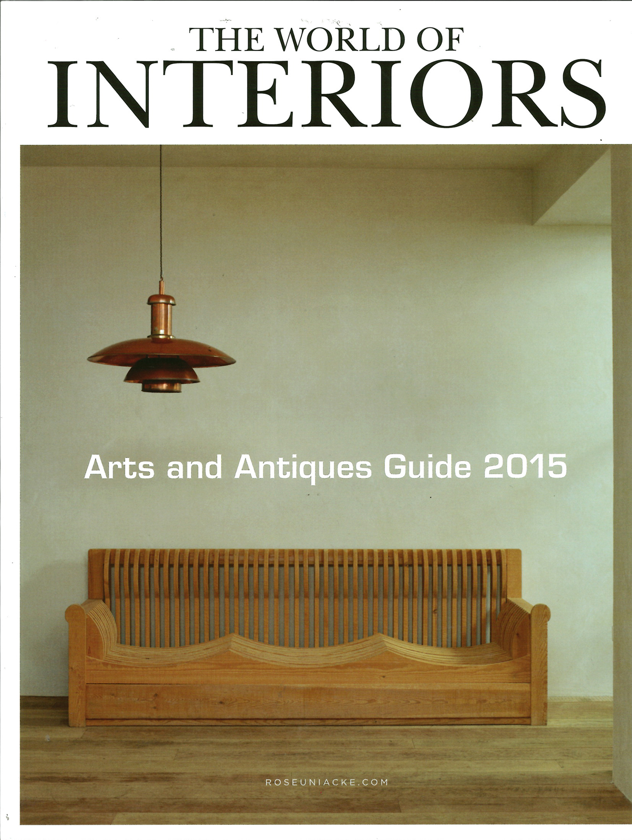 World Of Interiors - Arts & Antiques Guide 2015 (Page 0)