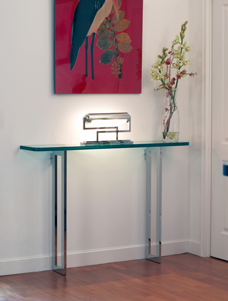 Console table No. 31M by Jean Perzel