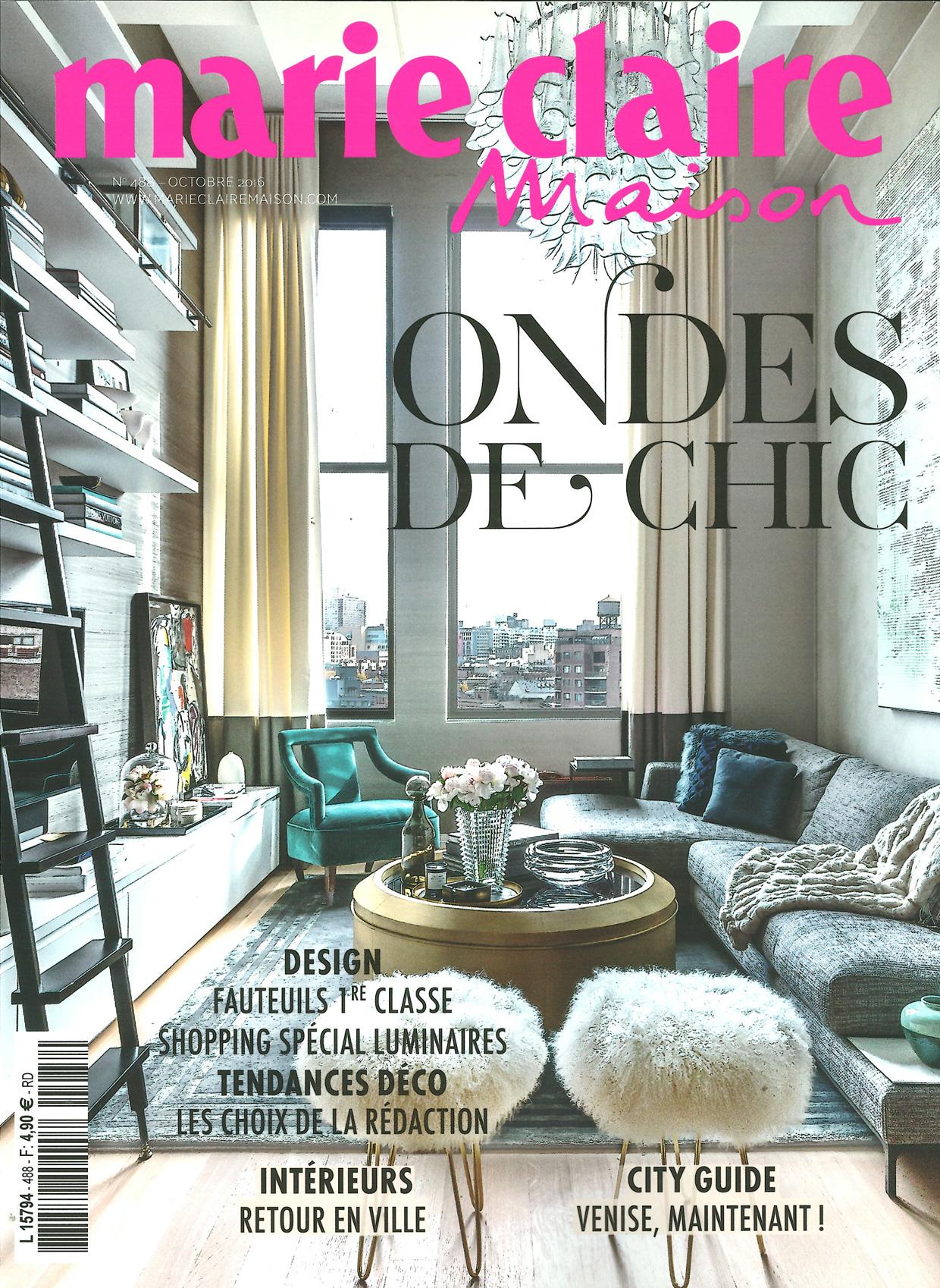 Marie Claire Maison - Octobre 2016