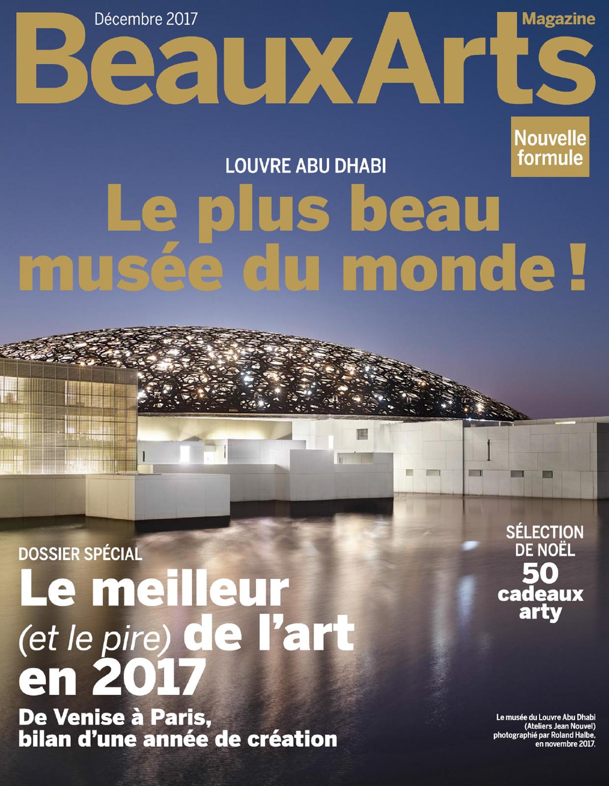 Beaux Arts Magazine Décembre 2017