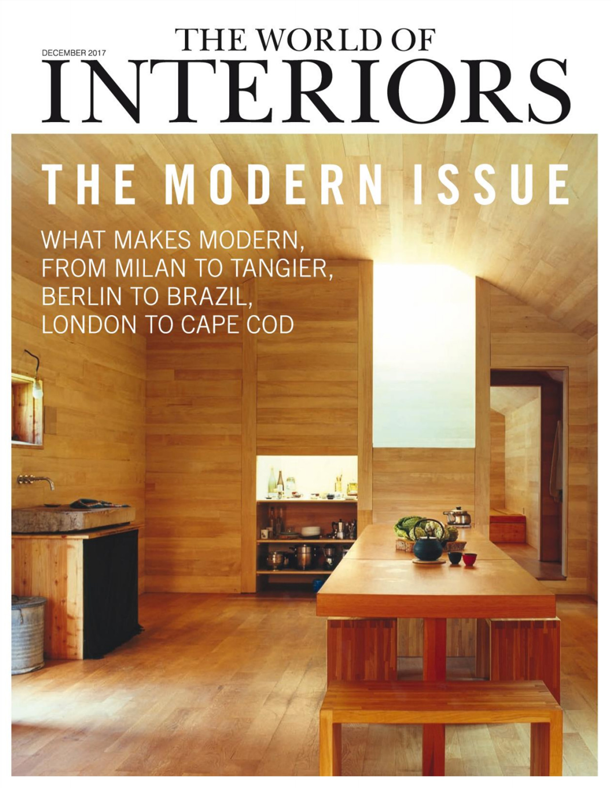 World of Interiors - Décembre 2017