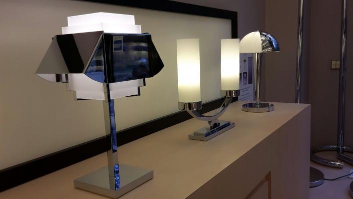 Lampes Jean Perzel - REF. 144 - REF. 509 bis PM - REF. 520