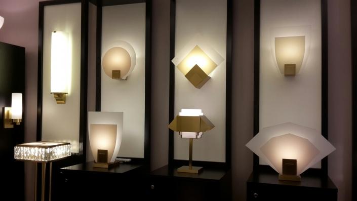 Jean Perzel luminaires - Showroom