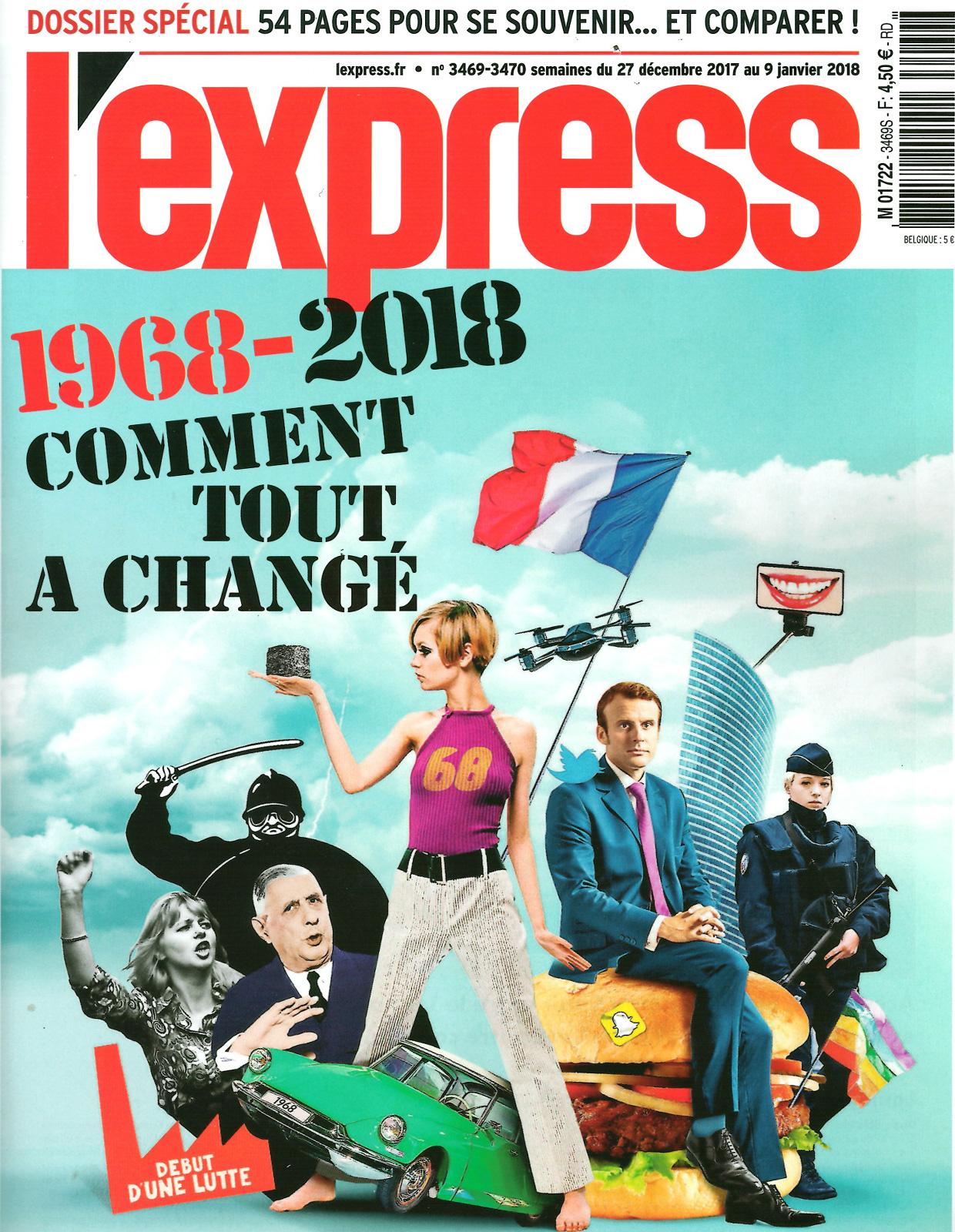 L'Express - Décembre / Janvier 2018