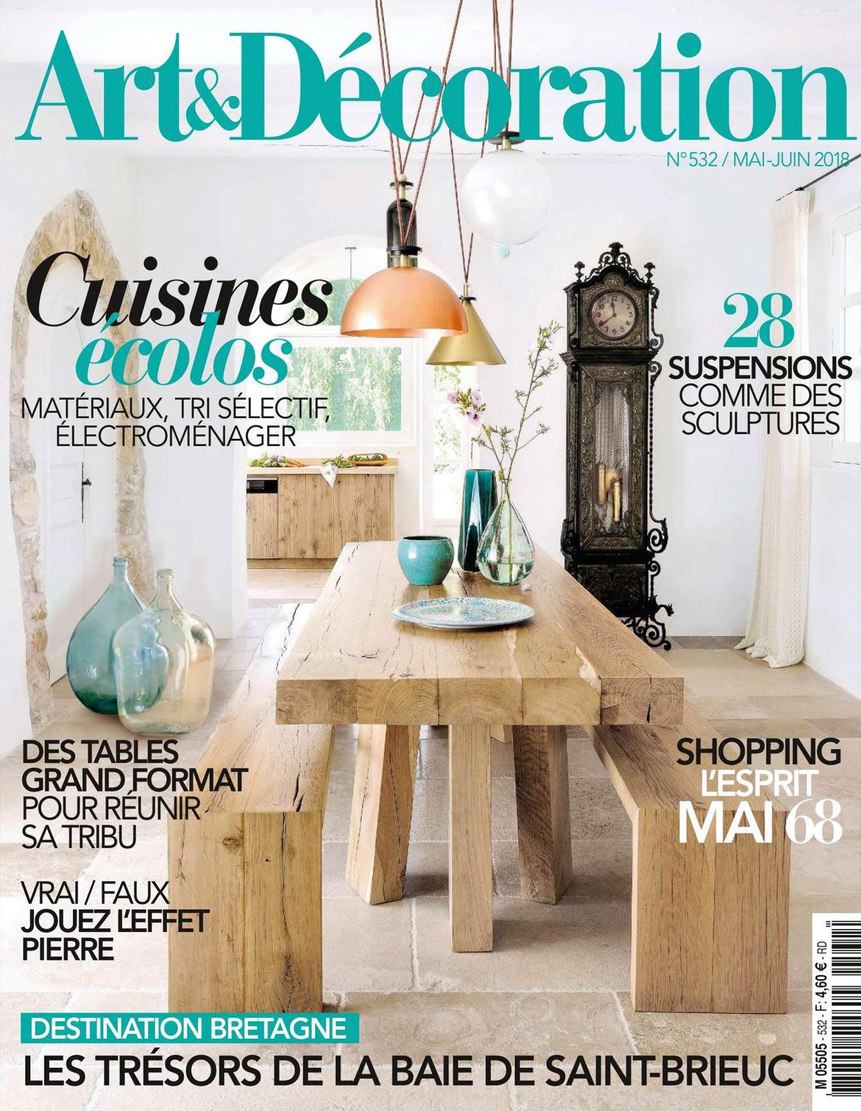 Art & Décoration - Mai / Juin 2018