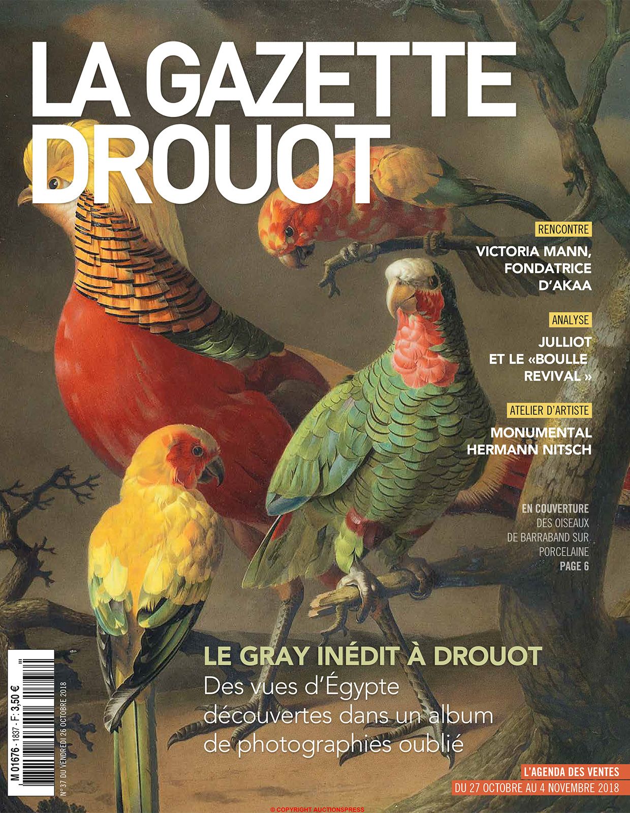 Gazette Drouot - Octobre 2018
