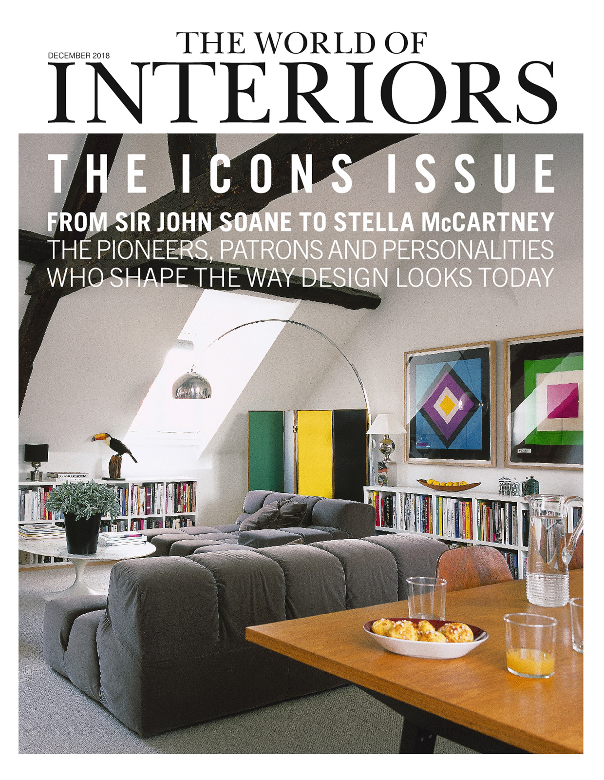 World of Interiors - Décembre 2018