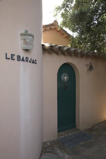 Villa Le Barjac - Applique murale extérieure N° 1077 Face