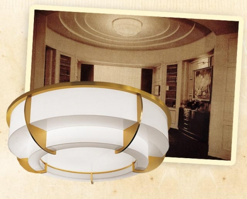 Ceiling Lamp 354 bis