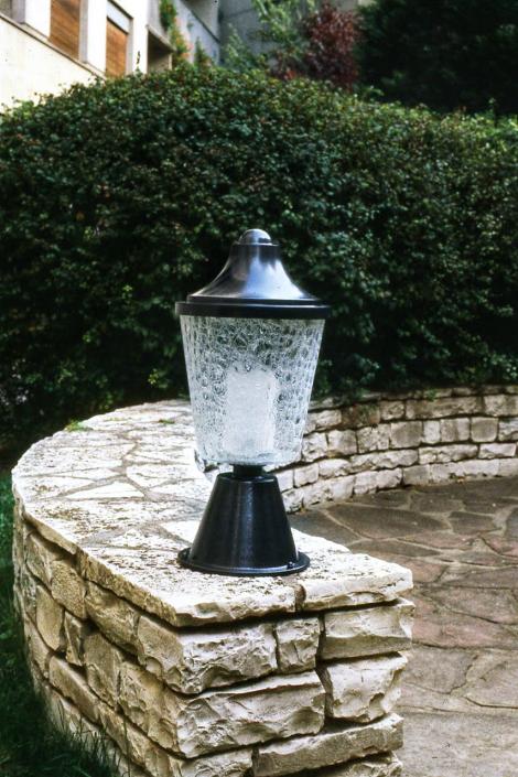 Borne Lampe extérieur REF. 6215 Jean Perzel