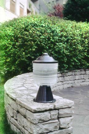 Borne REF. 955 GM - Luminaire extérieur Jean Perzel