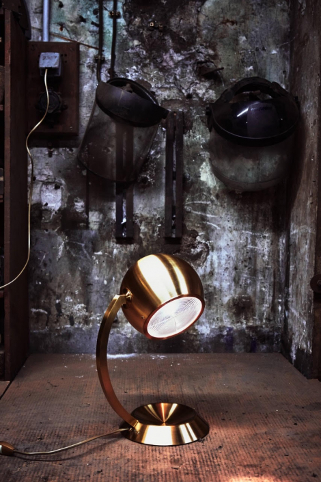 Lampe 511 bis - Jean Perzel (Photo Claude Weber)