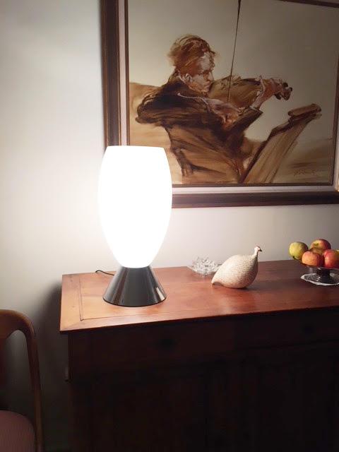 Appartement client – Lampe REF. 1000 bis Jean Perzel