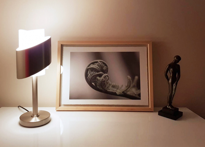 Appartement client – Lampe REF. 159 Jean Perzel