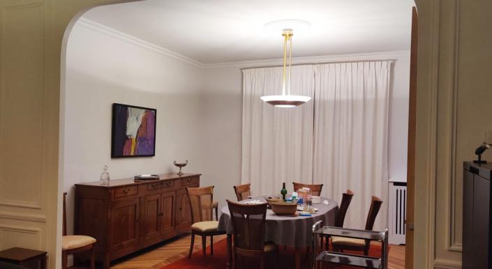 Appartement client – Plafonnier REF. 601 TER Jean Perzel