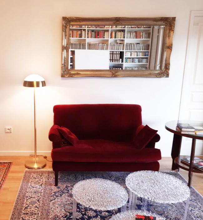 Appartement parisien design – Lampadaire REF. 104 Jean Perzel
