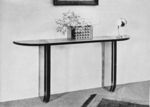 Archives Lampe 511 bis & Console Jean Perzel