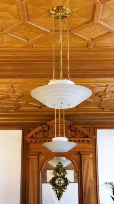Appartement client – Plafonnier REF. 58 bis Jean Perzel