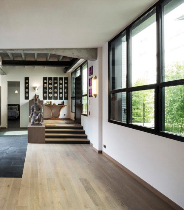 Agence Khora, Loft Berite - Applique / Wall light Jean Perzel REF. 658 et REF. 521 ter