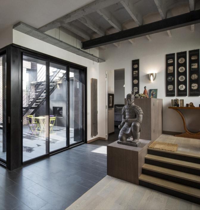 Agence Khora, Loft Berite - Applique / Wall light Jean Perzel REF. 658